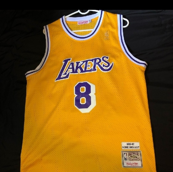 low priced 4615e 781c0 Authentic Mitchell Ness Rookie Kobe Bryant Jersey
